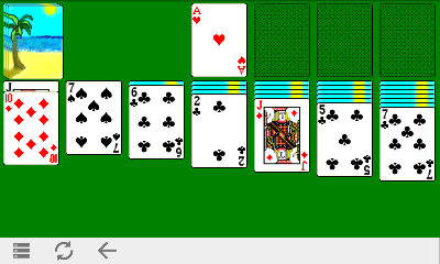 Play Good Old Classic Solitaire Online